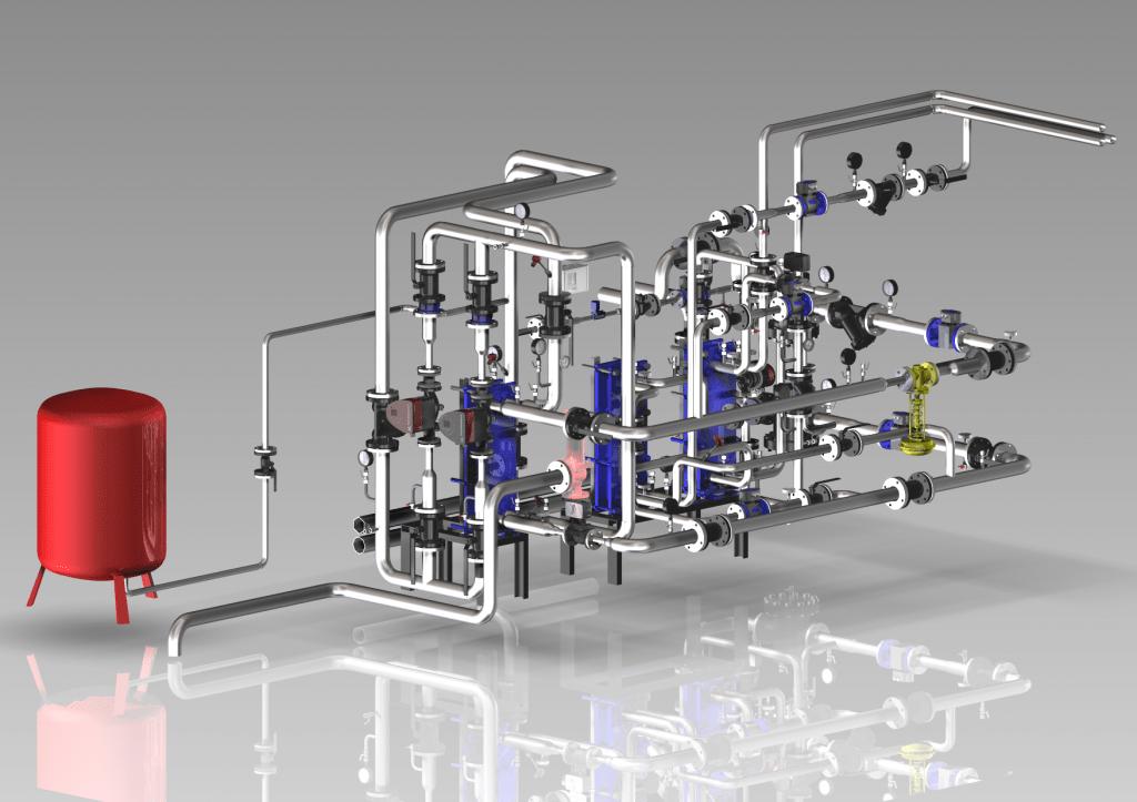Установка для промывки теплообменников Aquamax PROMAX 30 SUPAFLUSH Самара